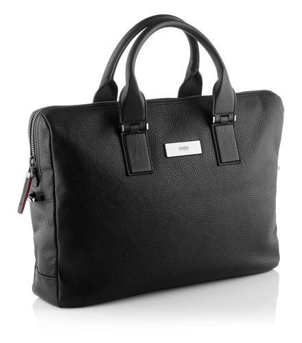 Business bag 'Rotterdam' made of leather by HUGO