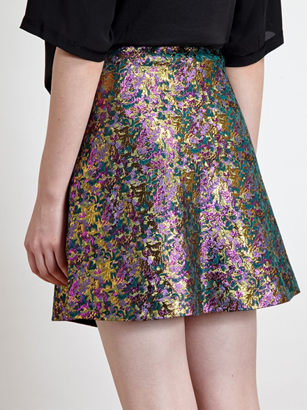 3.1 Phillip Lim Jacquard Mini Skirt