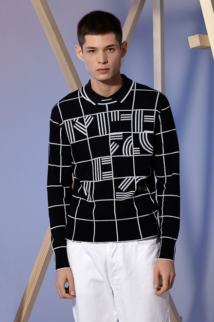 "Kenzo ""Windows Checks"" Sweater"