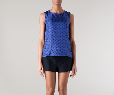 Marni polka dot tank top