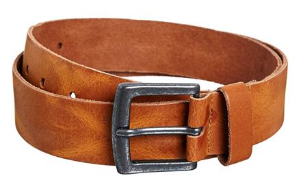 Men's ASOS Distressed Leather Jeans Belt
