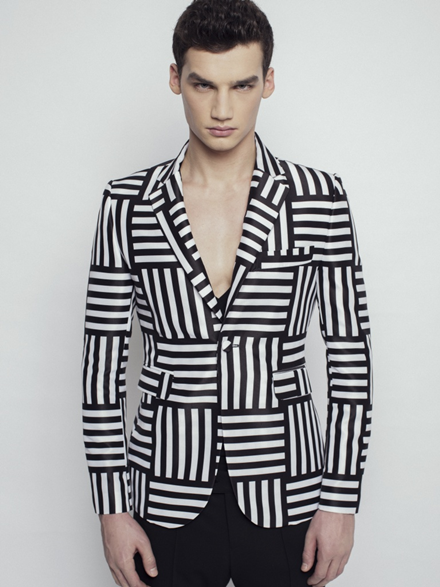 Sandor Lakatos Printed Jacket