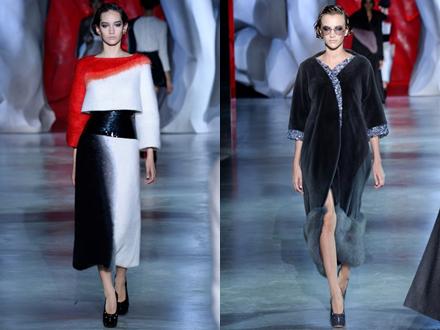 Ulyana Sergeenko AW14 couture
