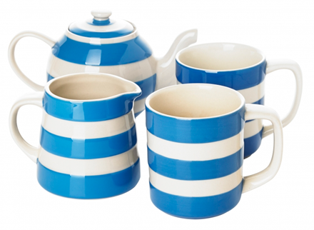 Blue Tea For Two Set from Cornishware