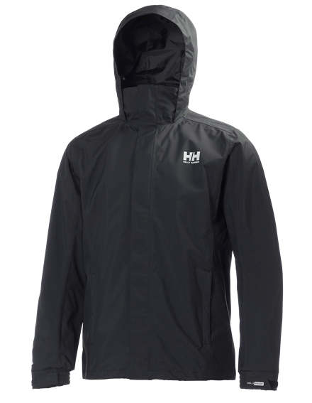 Men's Black Waterproof Dubliner Jacket from Helly Hansen