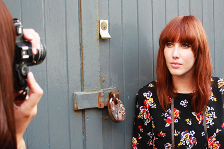 Tallulah's Threads AW14 vintage floral print dress
