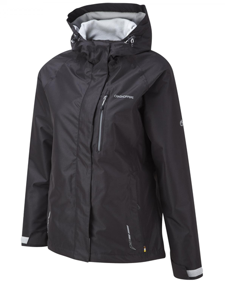 Women's Black Reaction Thermic Waterproof Jacket from Craghoppers