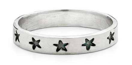 Women's Sterling Silver Star Ring from Alison Moore