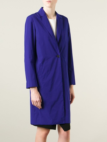 Cedric Charlier Single Breasted Coat