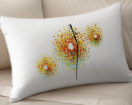 Feldmos Brothers Sunflowers Art pillow cover